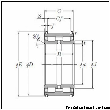 RU-5232 Fracking Pump Bearings