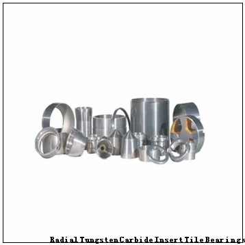 TNU-05044 Radial Tungsten Carbide Insert Tile Bearings