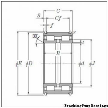 10549-TVL Fracking Pump Bearings