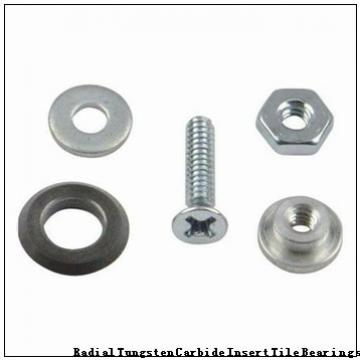 G-3075-B Radial Tungsten Carbide Insert Tile Bearings