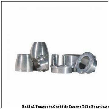 128723 Radial Tungsten Carbide Insert Tile Bearings