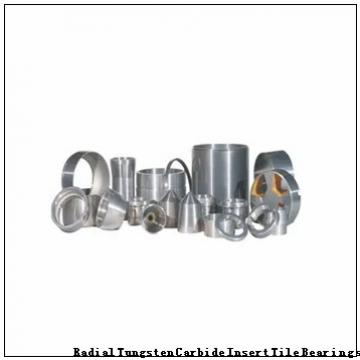 128718 Radial Tungsten Carbide Insert Tile Bearings