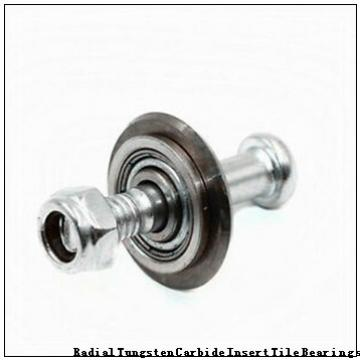 NJ312M Radial Tungsten Carbide Insert Tile Bearings