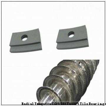 NUP76660 Radial Tungsten Carbide Insert Tile Bearings