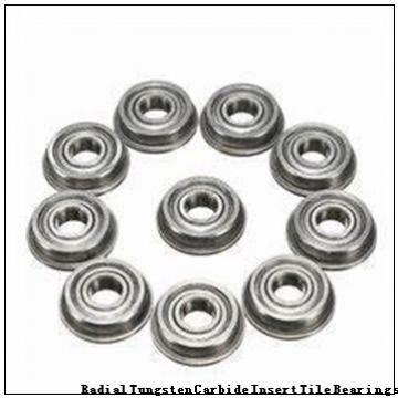 128711K Radial Tungsten Carbide Insert Tile Bearings