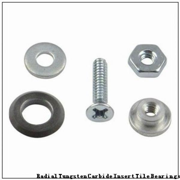 G-3075-B Radial Tungsten Carbide Insert Tile Bearings #1 image