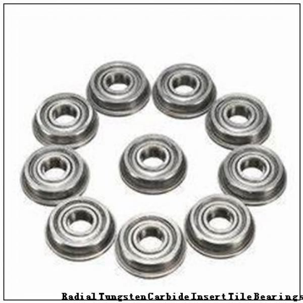 929/762QU Radial Tungsten Carbide Insert Tile Bearings #2 image